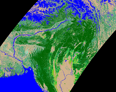 satellite-based classification of South Asian dry dipterocarp forest
