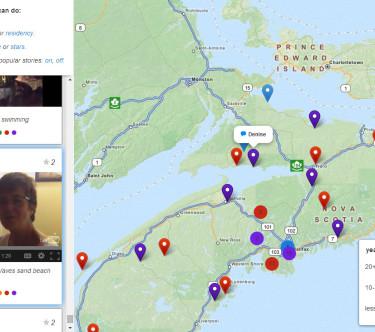 A freshwater story in Nova Scotia.